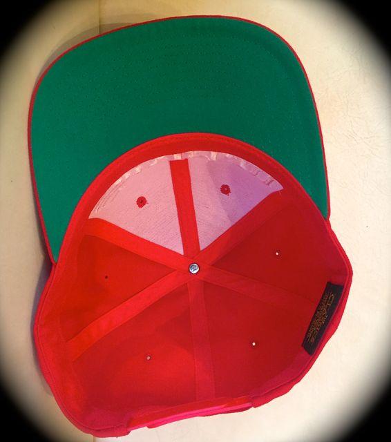 CAP16-NAVY&RED