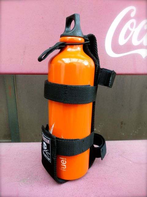 FUEL BOTTLE-HOLDER