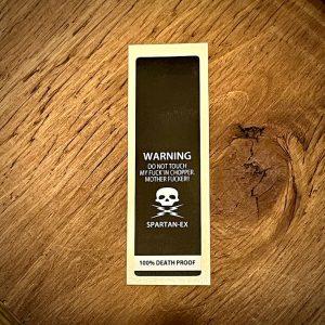 Sticker-13:Handlebars Warning